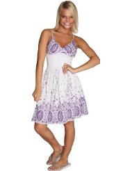 Alki'i Jardin de flores beach cotton sundress