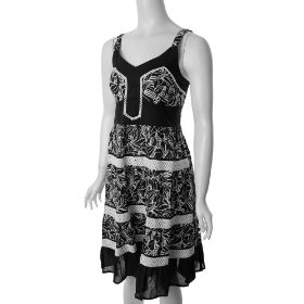Cute Options Junior Vintage Style Sleeveless Dress