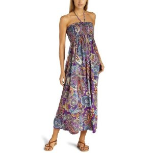 Long Sundress - Raviya Women's Smocked Maxi Dress