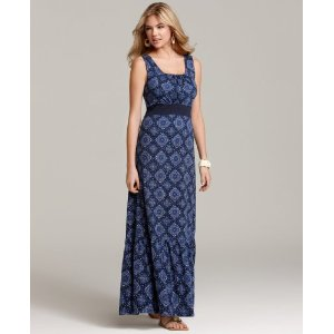 Long Sundress - Tommy Hilfiger Dress, Vintage Bandana Maxi