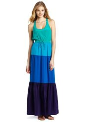 Twelfth St. by Cynthia Vincent Women's Color Block Maxi Dress