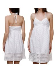 Rip Curl Lena Juniors White Sundress