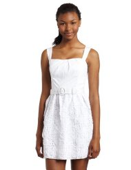 Xoxo Juniors White SunDress With Belt and Soutache